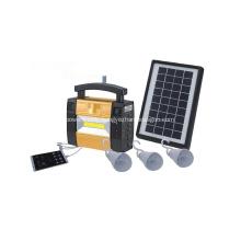 Portable Small Solar Power System For Mobile Lighting