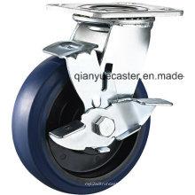 Heavy Duty Elastic Gummi Swivel Rollen und Räder