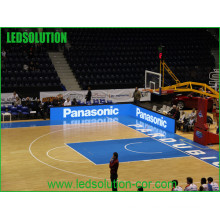 Exposição de diodo emissor de luz interna de alta qualidade do perímetro dos esportes da cor P10 completa