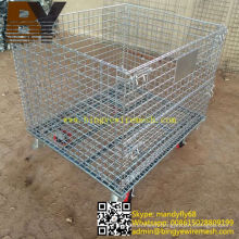 Wire Mesh Container Warehouse Storage