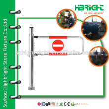 single sided access control directional store gate for supermarket