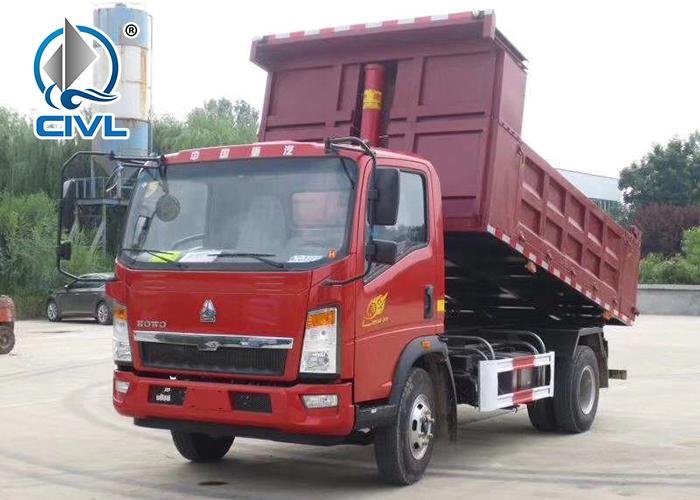 4x2 Light Dump Truck 7