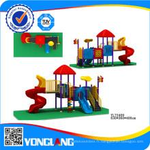 Type de diapositive en plastique Équipement de parc d'attractions pour enfants