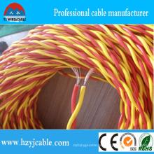Изоляция из ПВХ с дешевым электрическим твист-кабелем