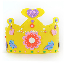 DIY Educational Toys EVA Handmade Birthday Party Crown Kids Early Learning Education