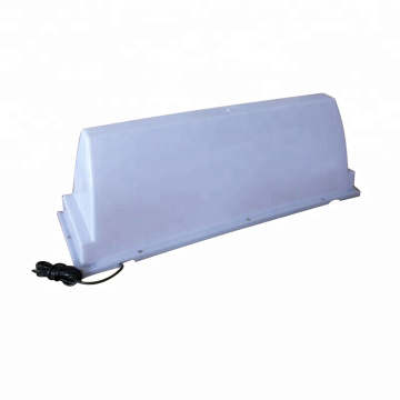 Vacuum Forming Plastic Taxi Advertising Roof Top Light Box
