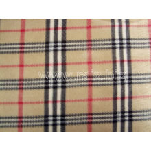 England Grid Polar Fleece Stoff