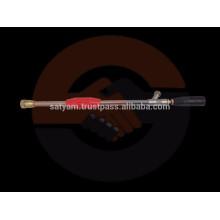 Pistolet à pulvérisation haute pression de 76 mm à 3 pieds ou longueur personnalisée