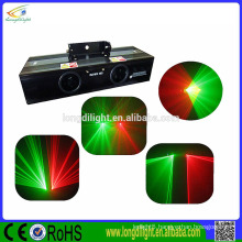 High quality Double Head red+green color laser light