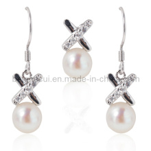 Pearl Jewellery, Pearl Sets, Pearl Pendant Necklace, Drop Pearl Earrings
