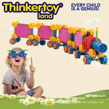 Креативные игрушки Блок для детей в форме поезда