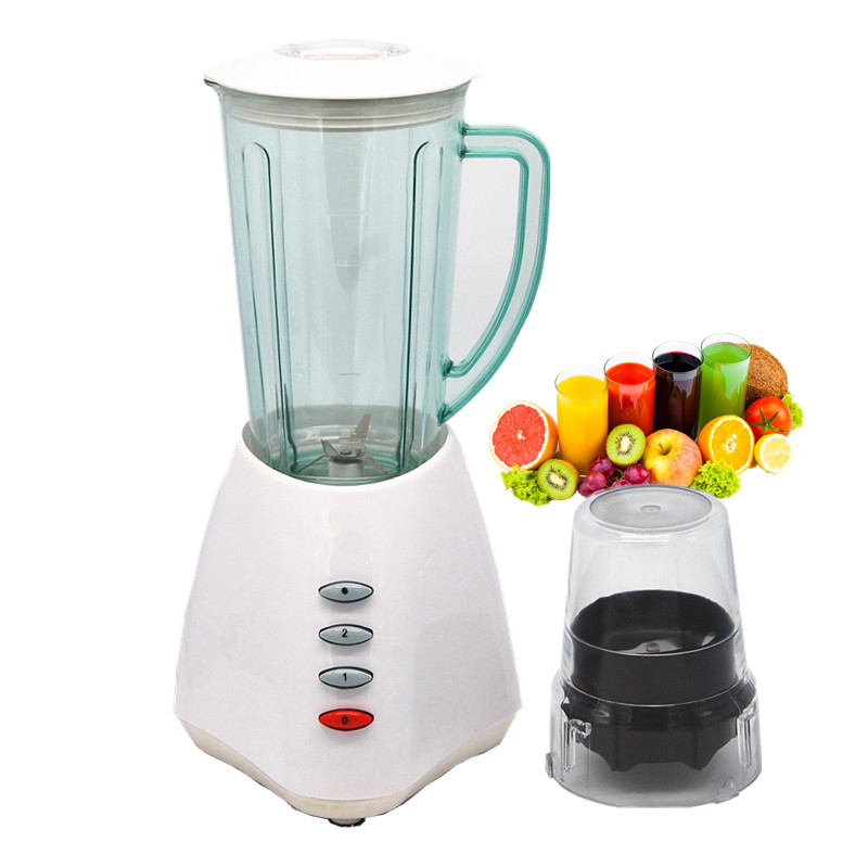 Low-power household food mixer