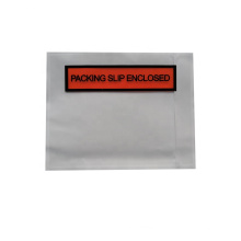bordereau d'emballage auto-adhésif personnalisé inclus