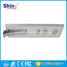CE RoHS Certificação Solar LED Street Lamp sem MOQ