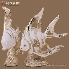 Ozean Tier Skulpturen Meer Fisch Skulpturen für zu Hause Innendekoration zu Fabrik Preis