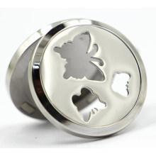 Schmetterling Magnet Stil 30mm Rd Edelstahl Parfüm Locket