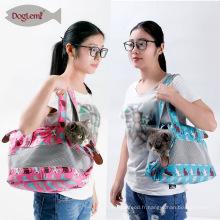 2017 Doglemi Meilleure Vente Pet Cat Sling Bag Carrier