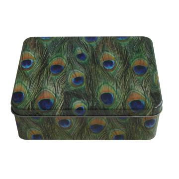 Rectangle Emballage Boîte en étain Boîte en étain Tin métallique Jy-Wd-2015112715