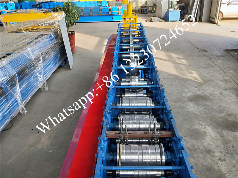 rolling door frame forming machine