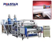 plástico de teste universal esticar a máquina da película