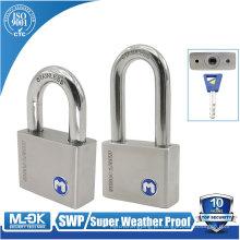"""Trava M W11 / 50WF Cilindro de disco giratório de aço inoxidável cadeados com diâmetro de manilha 6 mm (15/64 """"pol.)"""