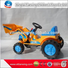 High quality best price kids indoor/outdoor sand digger Plastic Material and Battery Power baby kids car