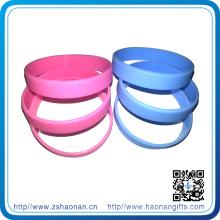 Promotion Gift Silicone Wristband with Custom Logo (HN-SB-002)