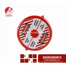Bloqueio das etiquetas de notificação de posição da válvula Bloqueio da válvula BDS-F8613