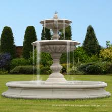 Fuente moderna con gradas del jardín de la piedra natural del proveedor de China en venta