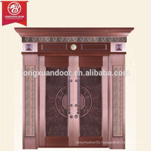 Factory Custom Expensive Entrance Bronze Door, Main Door of Copper