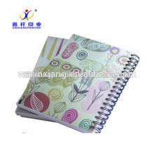 Personalizado a5 impresión de cuaderno personalizado, cuaderno de espiral, cuaderno escolar