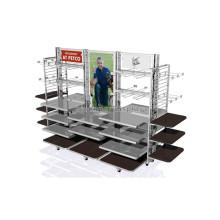 Пользовательские Назн Магазин В Магазин Дисплей Мебель Большие Подвижные Одежда В Розницу Торгового Оборудования Для Продажи