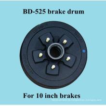 Tambor de freio BD-545 para freios de caravana de 10 polegadas