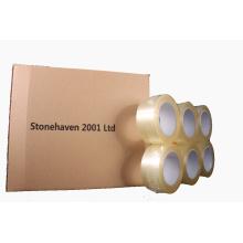 Largeur 48mm Ruban d'emballage transparent pour l'emballage en carton