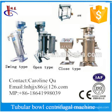 Gq125 High Speed Tubular Bowl Super Centrifuge