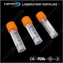 1,8 ml de tube cryogénique avec zone d'écriture graduée et blanche