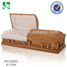 Reasonably priced high quality plain religious casket