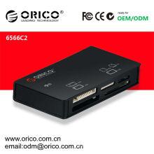 Lector de tarjetas USB 2.0, soporte MS / XD / M2 / TF / SD / CF