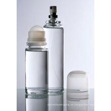 Botella de perfume de cristal del perfume del aerosol del cuerpo del perfume del roll-on