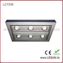 Placa de luz de techo del cuadrado 6W / 18W LED para interior / joyería