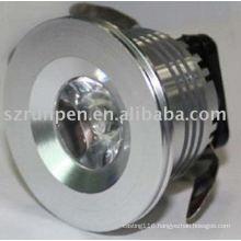 Die casting LED light shade