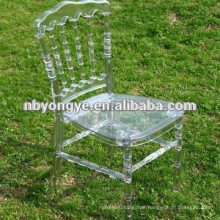 clear resin napoleon wedding chair for sale