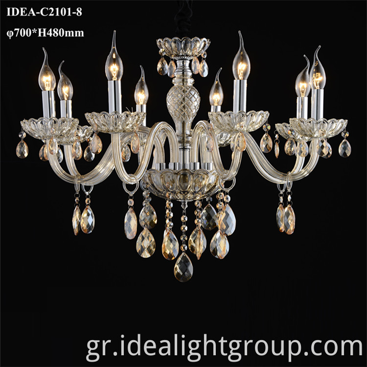 candle lamps chandelier