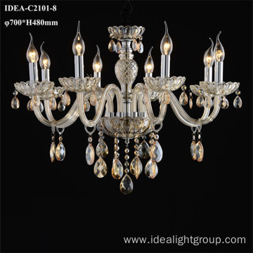 chandelier modern crystal decorative cross lights
