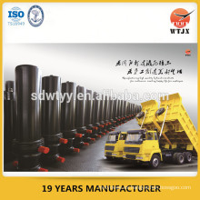 Cilindro hidráulico de 100 ton para camión volquete / camión de volteo elevador hidráulico