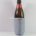 Fashion Gingham Neoprene Beer Can Coolers