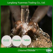 Desinfectante de Agua Tableta de Dióxido de Cloro para el Tratamiento de Agua