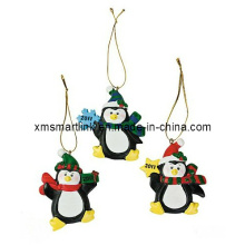 Christmas Christmas Penguin Decoration Crafts, Cadeau suspendu de Noël