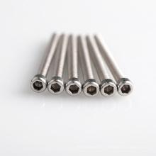 High Quality M2, M2.5, M3, M4 Stainless Steel Screws, Hex Socket or Torx Head Screws