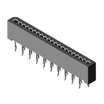 1.0 mm FPC No ZIF de ángulo recto SMT de doble contacto
